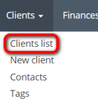 Clients menu.png