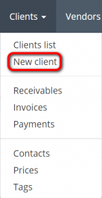Clients menu create.png