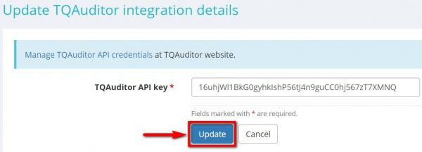 TQAuditor integration key.jpg