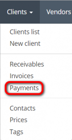 Clents payments menu.png