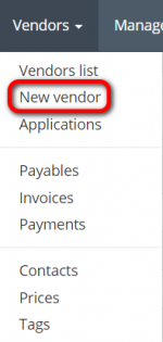 Vendors New Vendor menu.png